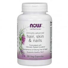 Витаминно-минеральный комплекс NOW Sports Hair Skin Nails Clinically Advanced 90 капсул