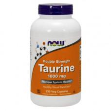 NOW Sports Double Strength Taurine 1000 250 капсул без вкуса