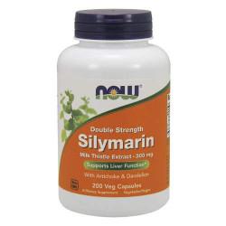 NOW Silymarin 300 мг - 200 капсул - силимарин, для восстановления печени