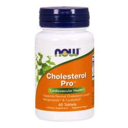 NOW Cholesterol Pro - 60 таблеток - комбинированный препарат для снижения холестерина