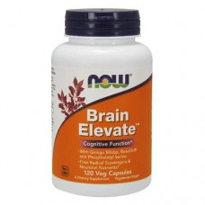 NOW Brain Elevate - 120 капсул - комплексный препарат для мозга