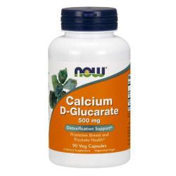 NOW Calcium D-Glucarate 500 мг - 90 капсул - препарат для детоксикации печени