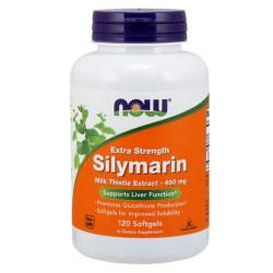 NOW Silymarin 450 мг - 120 softgels - силимарин, экстракт расторопши для печени