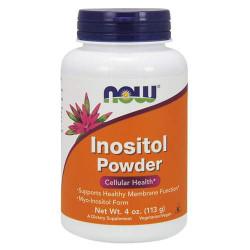 NOW Inositol Powder 4 oz. - 113 грамм - витамин b8, инозитол