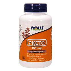 NOW 7-KETO 100 мг - 120 капсул - 7-кето дегидроэпиандростерон