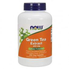 NOW Green Tea Extract 400 мг - 250 капсул - экстракт зеленого чая