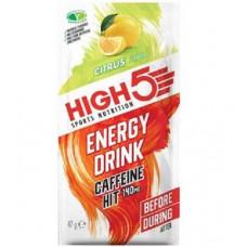 Энергетический изотонический напиток High5 с кофеином, 47 г, цитрус