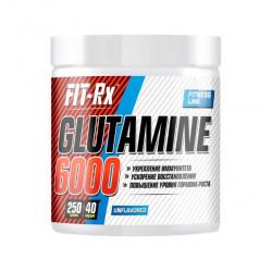 FIT-Rx Glutamine 6000 250 г без вкуса