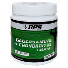 RPS Nutrition Glucosamine Chondroitin MSM 240 cap - 240 капс.