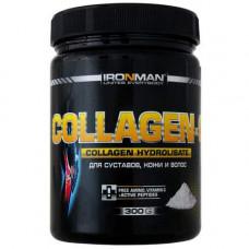 IRONMAN Collagen C - 300 грамм - гидролизованный коллаген с витамином C
