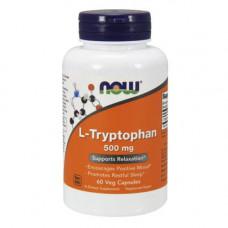 NOW Sports L-Tryptophan 500 60 капсул без вкуса