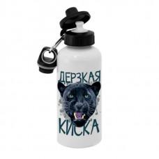 Спортивная бутылка для воды, Б_30_02 Дерзкая Киска