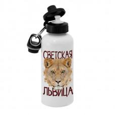 Спортивная бутылка для воды, Б_30_04 Светская Львица