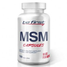 Be First MSM capsules - 120 капсул - метилсульфонилметан для суставов, против воспаления