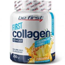 Be First Collagen + hyaluronic acid + vitamin C 200 гр - Ананас