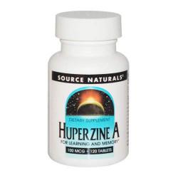SOURCE NATURALS Huperzine A 100 мкг - 120 таблеток - гиперзин А 100 мкг