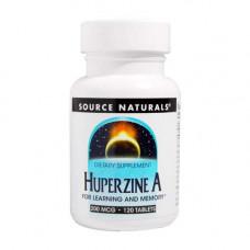 SOURCE NATURALS Huperzine A 200 мкг - 120 таблеток - гиперзин А 200 мкг