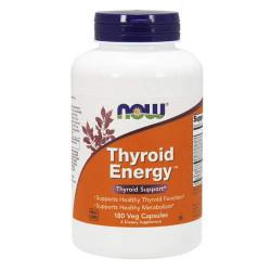NOW Thyroid Energy - 180 капсул - препарат для метаболизма, ускорения обмена веществ
