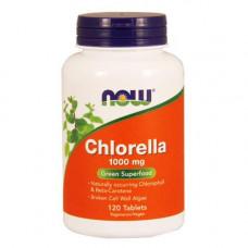 NOW Chlorella 1000 мг - 120 таблеток - хлорелла в таблетках