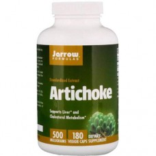 Jarrow Artichoke 500 mg - 180 капсул - артишок экстракт листьев в капсулах