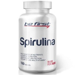 Be First Spirulina - 120 таблеток - спирулина в таблетках