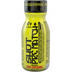 4+ Nutrition SHOT PRE MATCH+ 1shot 40ml - 40 мл, Ягодный взрыв