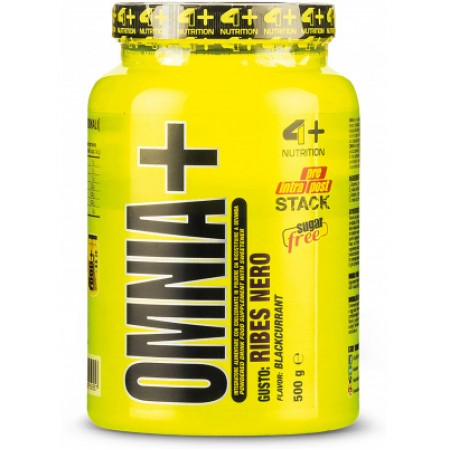 4+ Nutrition Omnia+ BCAA 500 г черная смородина
