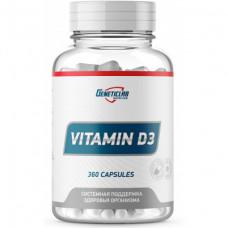 Витамин D GeneticLab Nutrition Vitamin D3 360 капсул