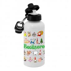 Спортивная бутылка для воды, Б_2020_19 Веселого 2020 года