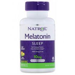 Natrol Melatonin 10mg Fast Dissolve 60tab - 60 таб., Цитрус