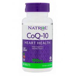 Natrol CoQ-10 100mg 30caps - 30 капс.