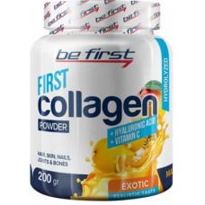 Be First Collagen + Hyaluronic acid + Vitamin C 200g - 200 г, Экзотический