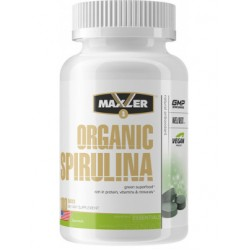 Maxler Organic Spirulina 500 mg 180 tab - 180 таб