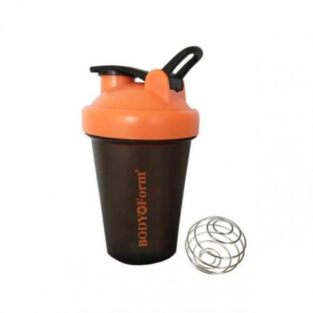 Спортивный шейкер BF-SSH01-400 черно-оранжевый