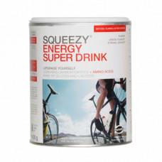 Изотоник с углеводами, электролитами и кофеином SQUEEZY ENERGY SUPER DRINK