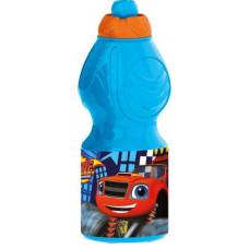 Бутылка пластиковая Stor - спортивная, фигурная, 400 мл. Вспыш и чудо-машинки 85932
