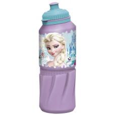 Бутылка пластиковая Stor - спортивная 530 мл. Холодное сердце Цветы, артикул 86835
