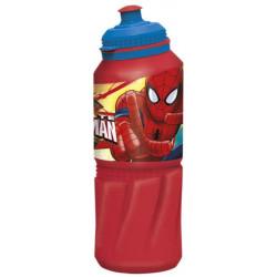 Бутылка пластиковая Stor - спортивная 530 мл. Человек-паук Красная паутина, артикул 33435