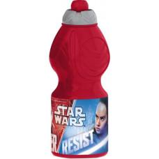 Бутылка Stor - спортивная, фигурная, 400 мл. Звездные Войны Последние джедаи 7932