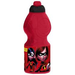 Бутылка пластиковая Stor - спортивная, фигурная, 400 мл. Суперсемейка 2, артикул 8232