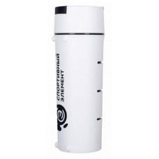 Спортивная бутылка Криолит 2в1 S67-600 бело-черная