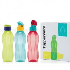 Подарочный набор Эко-бутылок Tupperware 750 мл, 3 шт.