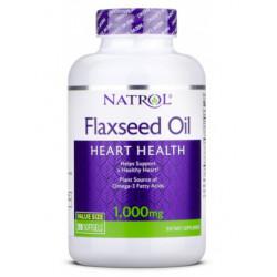 Natrol Flax Seed Oil 1000mg 200caps - 200 капс.
