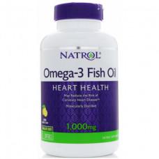 Natrol Omega-3 Fish Oil 1000mg 60caps - 60 капс.