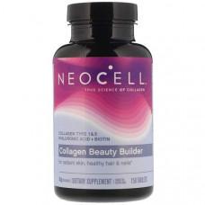 Коллагеновый комплекс с кислотой Neocell Collagen Beauty Builder 150 таблеток