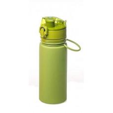 Бутылка силиконовая Tramp TRC-093 оливковая 500 мл