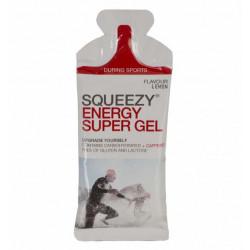 Гель углеводный с электролитами и кофеином SQUEEZY ENERGY SUPER GEL, кола