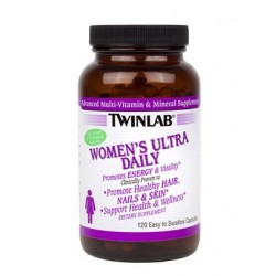 Витаминно-минеральный комплекс Twinlab Womens Ultra Multi Daily 120 капсул