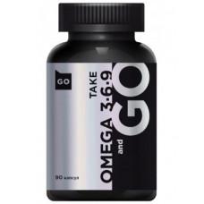 Take and Go Omega 3-6-9 90cap - 90 капс