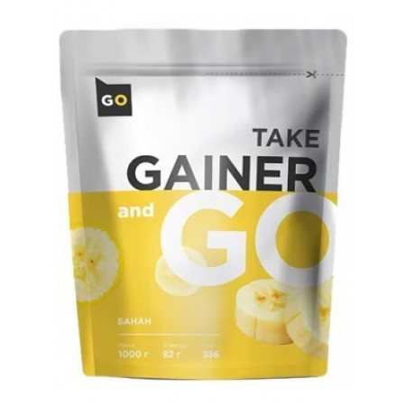 Гейнер Take and Go Gainer 1000 г Банан